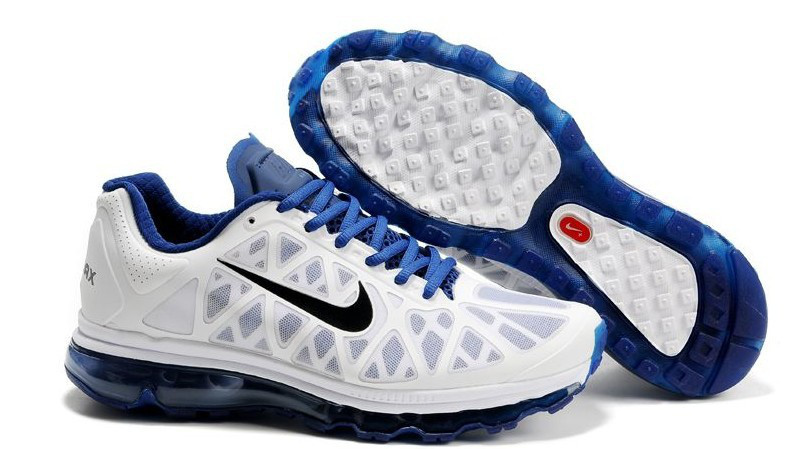Nike Air Max 2011 White Blue Black