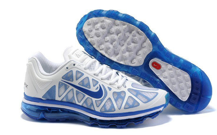 Nike Air Max 2011 White Blue
