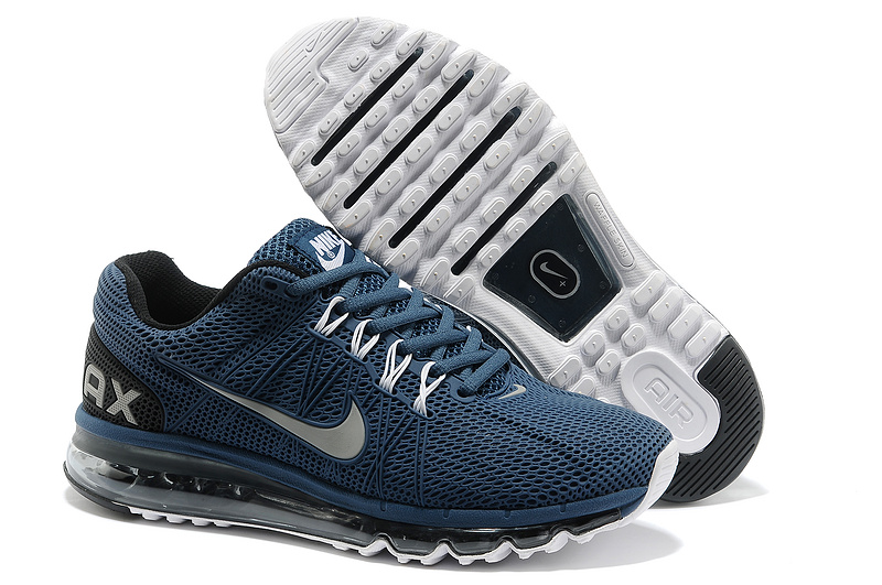Nike Air Max 2013 Deep Blue Running Shoes