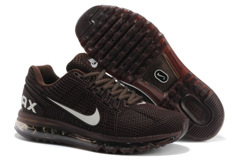 Nike Air Max 2013 Deep Brown Running Shoes