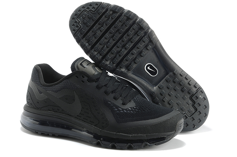 Nike Air Max 2014 Cushion All Black Shoes