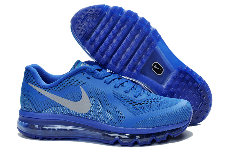 Nike Air Max 2014 Cushion All Blue Shoes