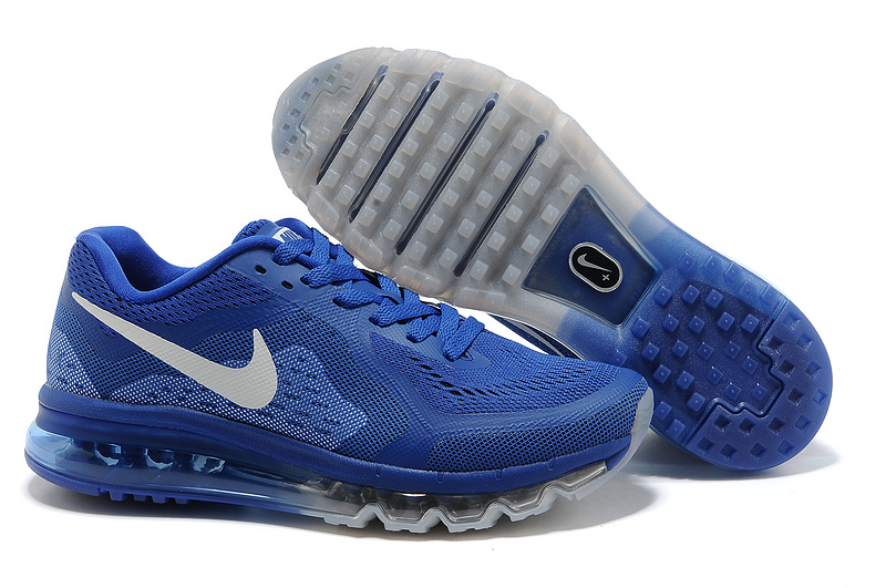 Nike Air Max 2014 Cushion Blue White Shoes