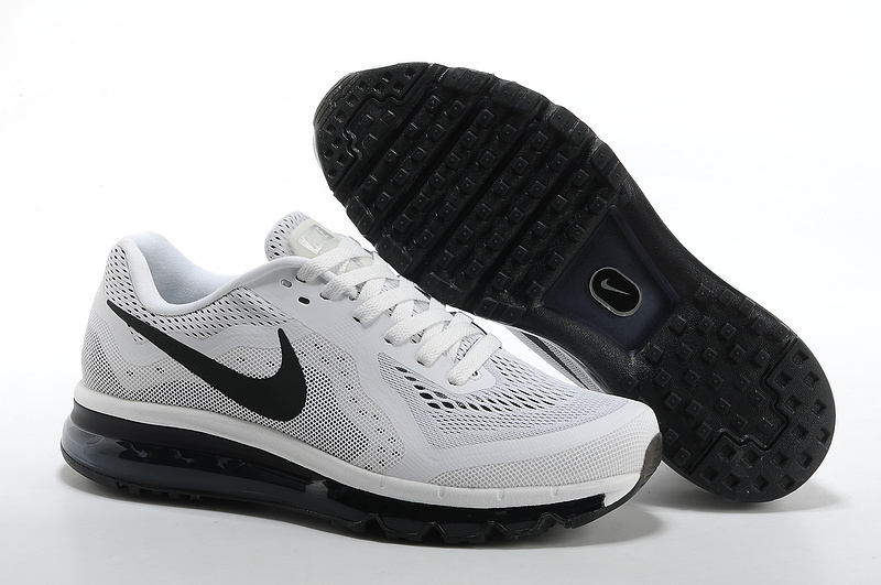 Nike Air Max 2014 Cushion Grey Black Logo Shoes