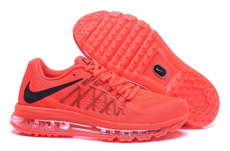 Nike Air Max 2015 All Red Shoes