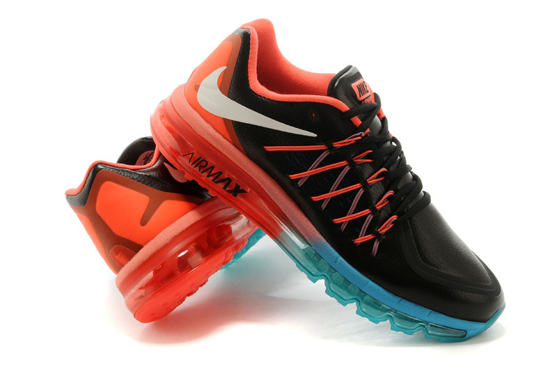 Men Nike Air Max 2015 Black Pink Blue