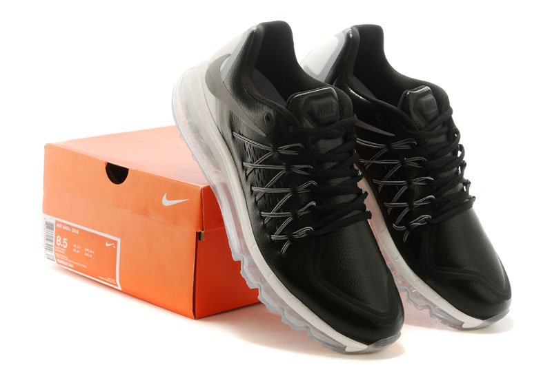 Men Nike Air Max 2015 Black White