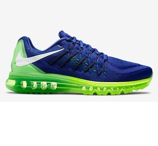 Nike Air Max 2015 Blue Volt Shoes