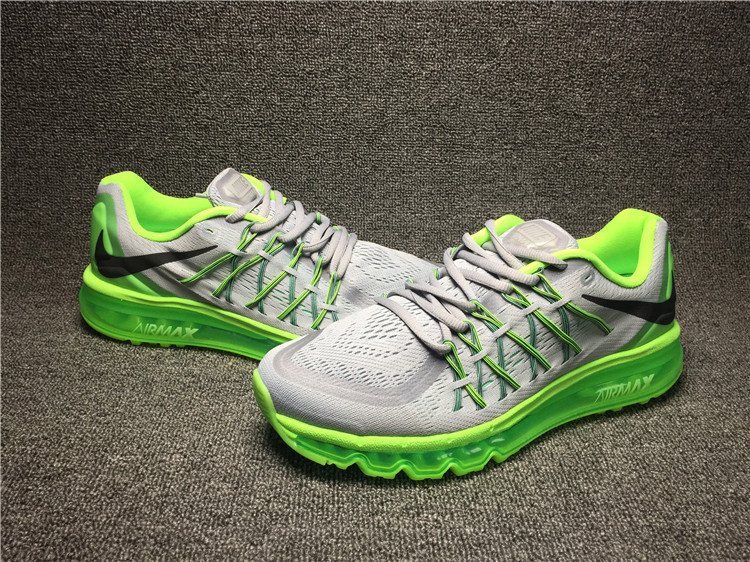 Nike Air Max 2015 Grey Green Shoes