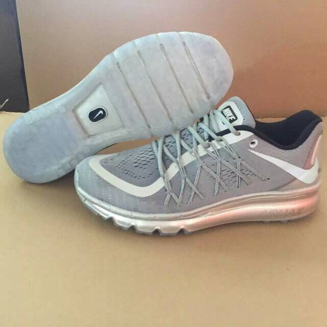 Nike Air Max 2015 Grey Silver Shoes