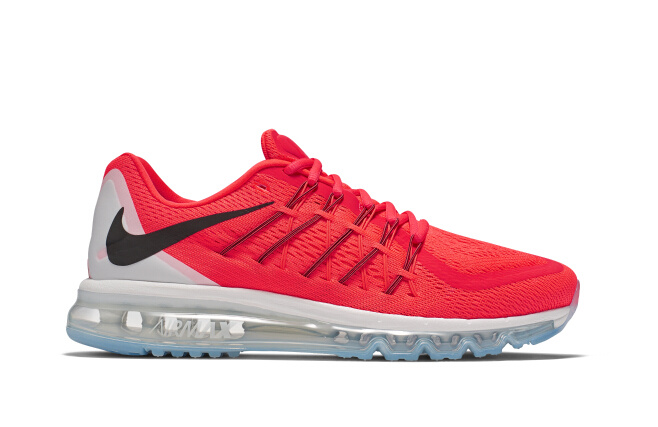 Nike Air Max 2015 Red White Shoes