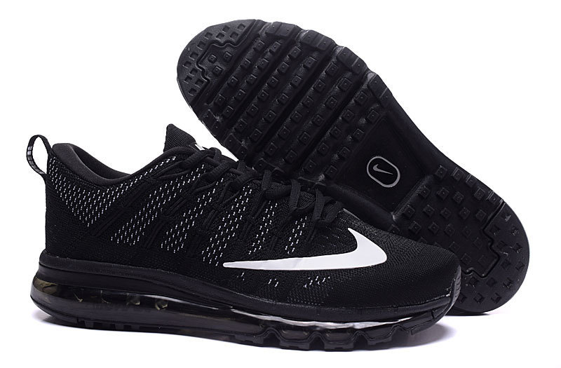 Nike Air Max 2016 All Black Shoes