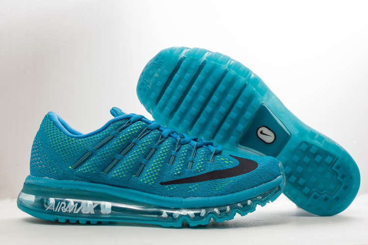 Nike Air Max 2016 All Blue Shoes