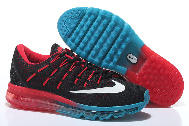 Nike Air Max 2016 Black Red Blue Shoes