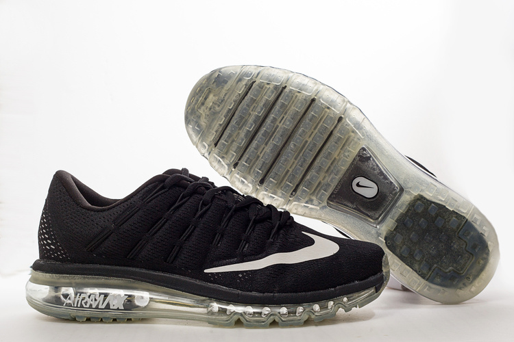 Nike Air Max 2016 Black Shoes