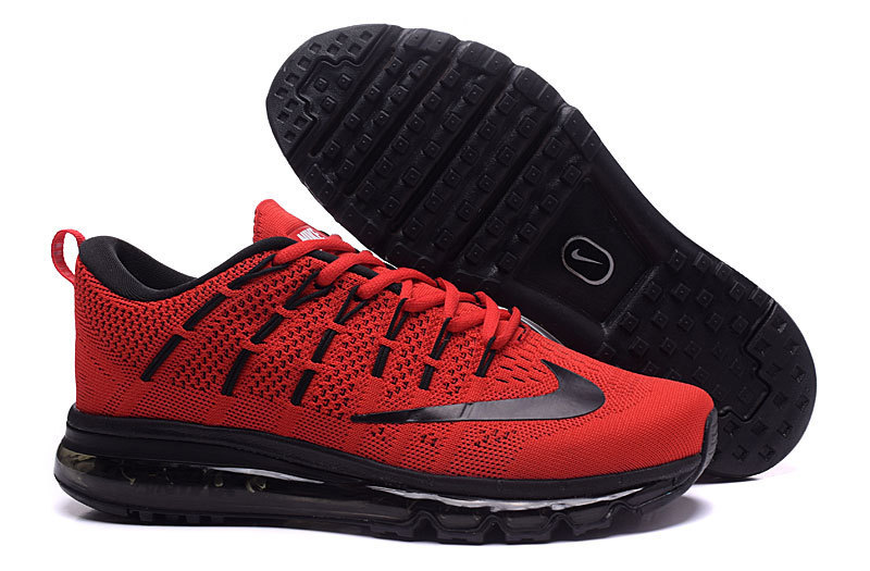 Nike Air Max 2016 Red Black Shoes