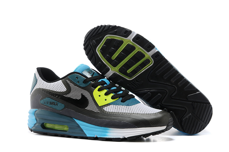 Nike Air Max 25th Anniversary Grey Black Blue Green Shoes