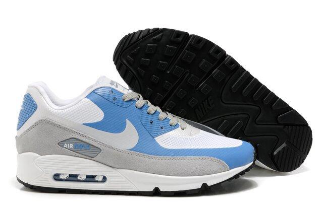 Nike Air Max 90 HYP PRM White Blue Grey Shoes