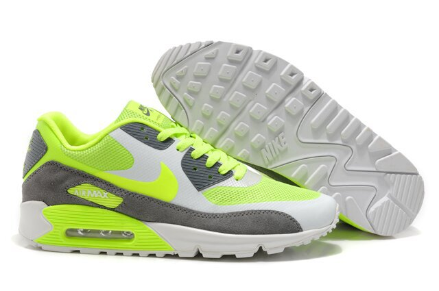 Nike Air Max 90 HYP PRM White Grey Yellow Shoes