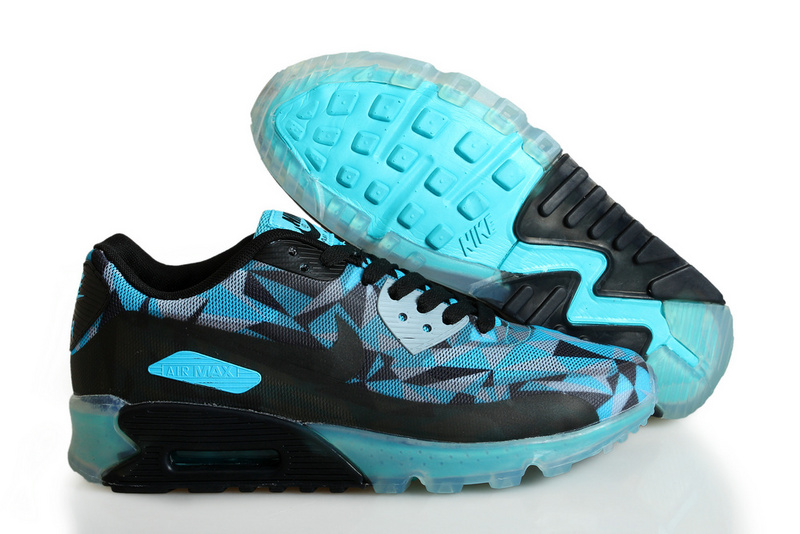 Nike Air Max 90 ICE Black Blue Grey Shoes