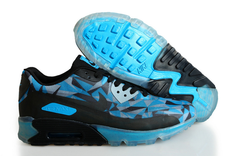 Nike Air Max 90 ICE Black Blue Shoes