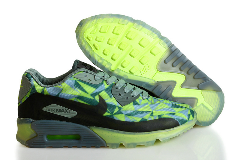 Nike Air Max 90 ICE Black Green Grey Shoes