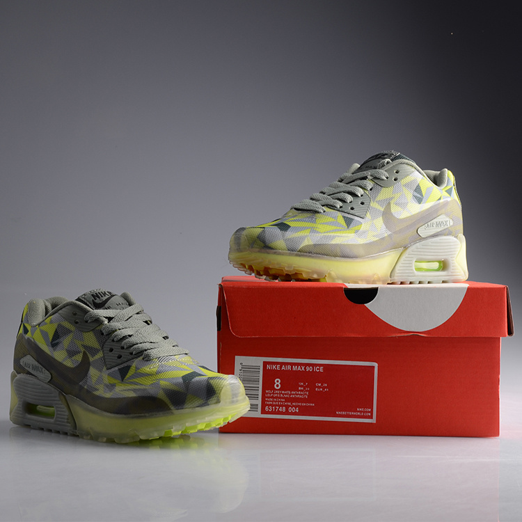 Nike Air Max 90 Jelly Grey Green Shoes