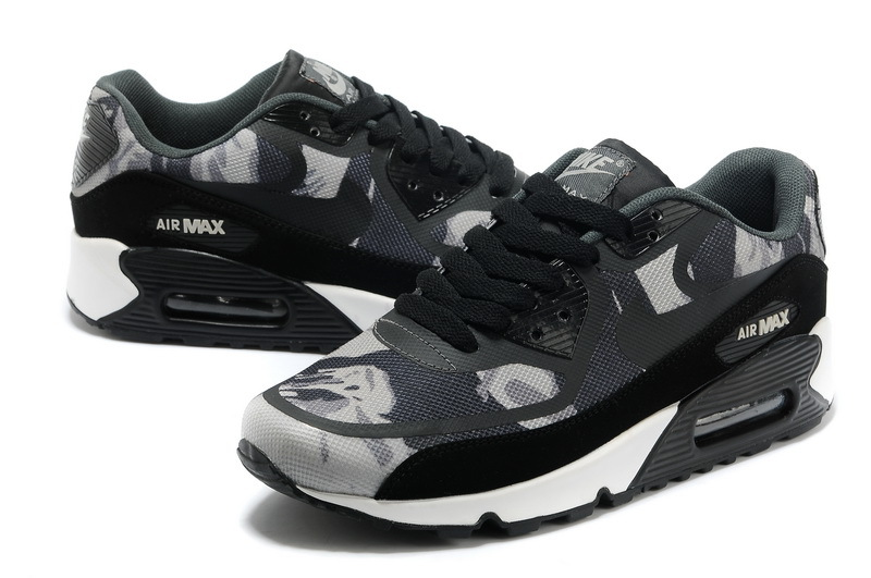 Nike Air Max 90 PREM TAPE Black Grey Shoes