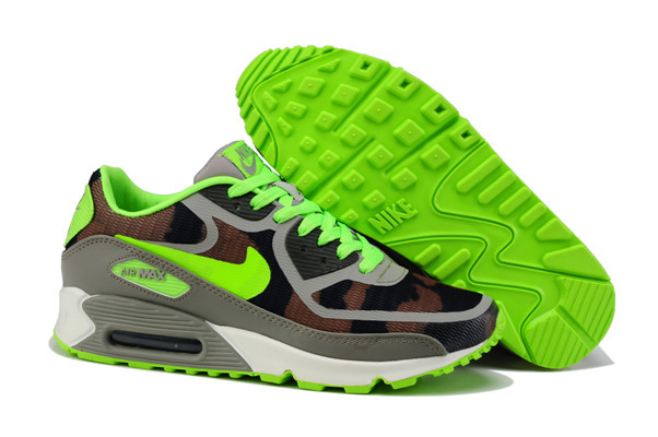 Nike Air Max 90 PREM TAPE Green Grey Shoes