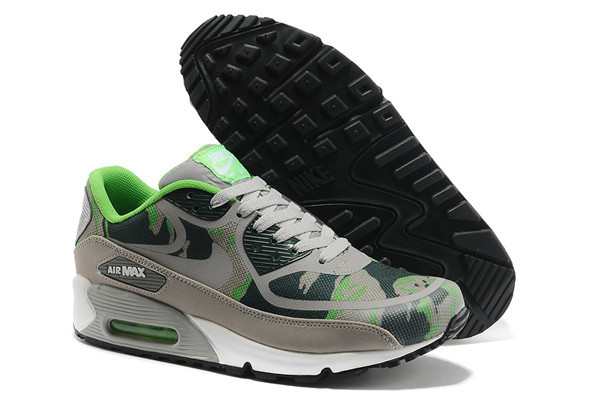 Nike Air Max 90 PREM TAPE Grey Green Lover Shoes