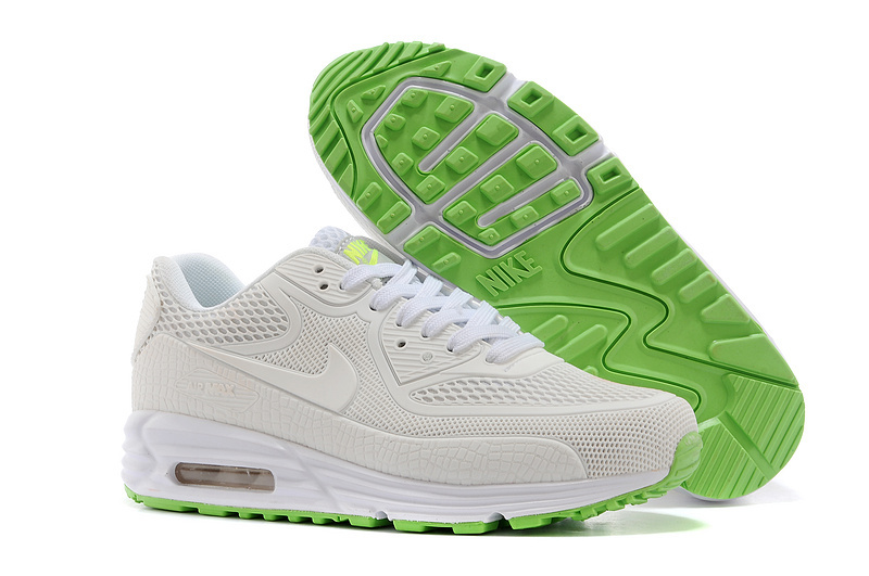 Nike Air Max 90 Rubber Patch 25th Anniversary Peach White Green Shoes