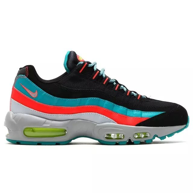 Nike Air Max 95 Black Blue Red Shoes