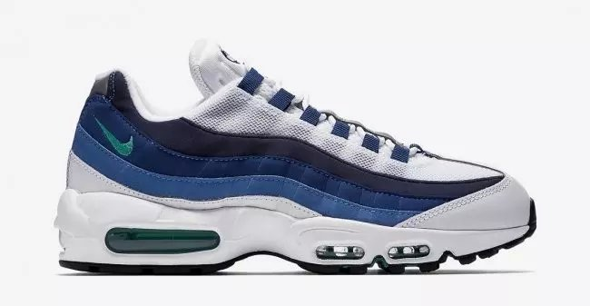Nike Air Max 95 White Blue Shoes