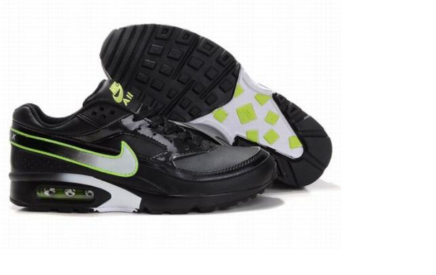 Nike Air Max BW Shoes Black Green