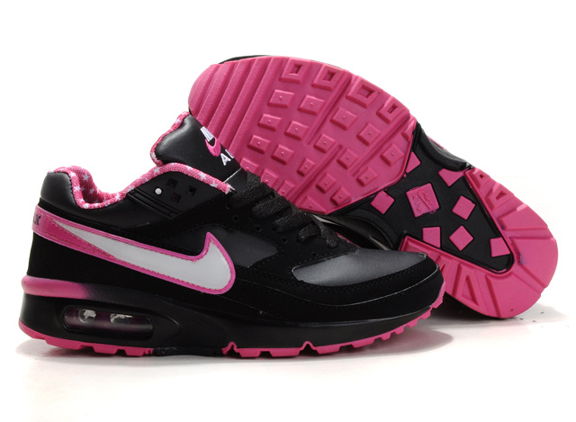 Nike Air Max BW Black Pink White Logo For Women