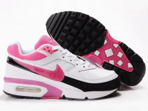 Nike Air Max BW White Pink Black For Women