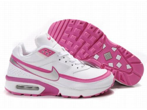 Nike Air Max BW White Pink For Women
