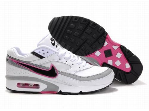 Nike Air Max BW WhiteGrey Black Pink For Women
