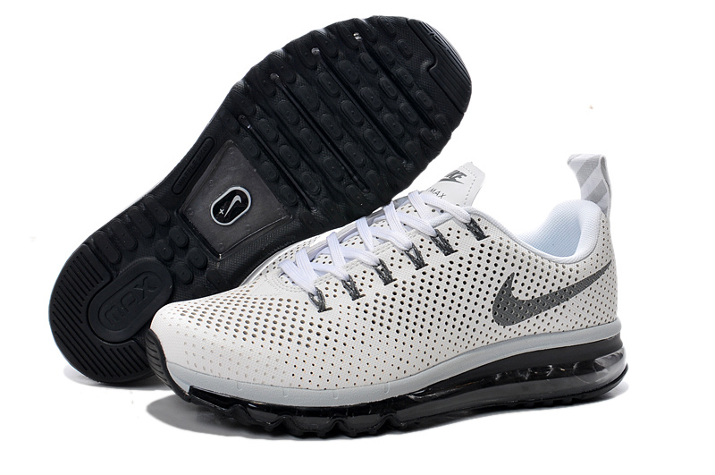 Nike Air Max Motion 2014 White Black Shoes