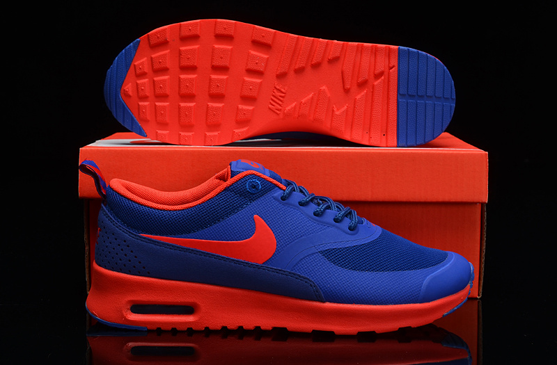 Nike Air Max THEA PRINT Blue Orange Shoes