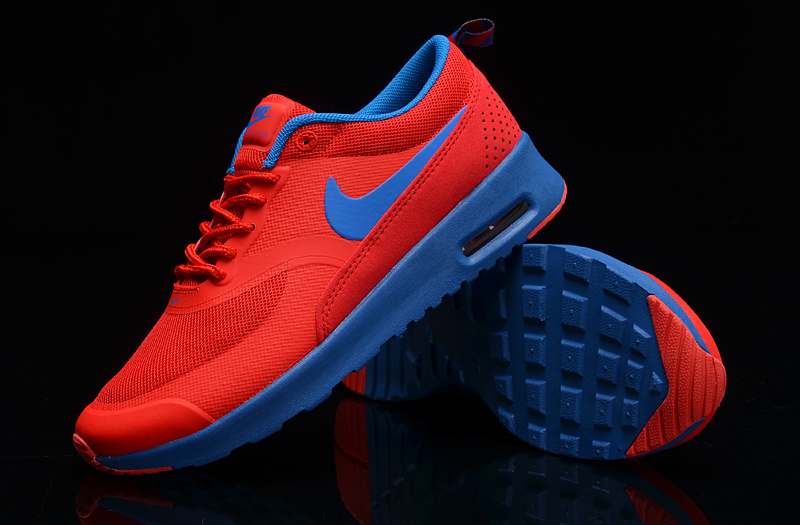 Women's Nike Air Max THEA PRINT Orange Blue