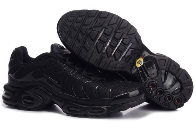 Nike Air Max TN Shoes All Black Logo