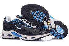 Nike Air Max TN Shoes Black Blue White