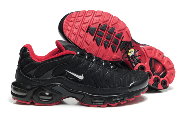 Nike Air Max TN Shoes Black Dark Red