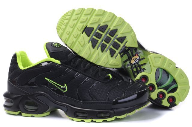 Nike Air Max TN Shoes Black Green