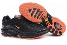 Nike Air Max TN Shoes Black Orange