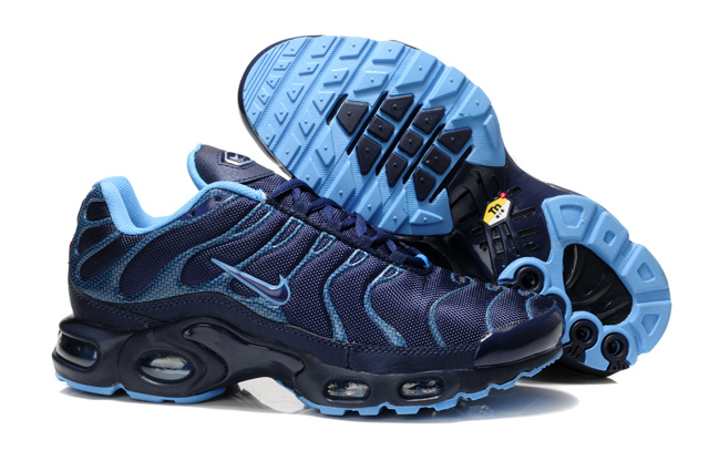 Nike Air Max TN Shoes Dark Blue Black