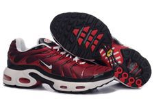 Nike Air Max TN Shoes Red Black White