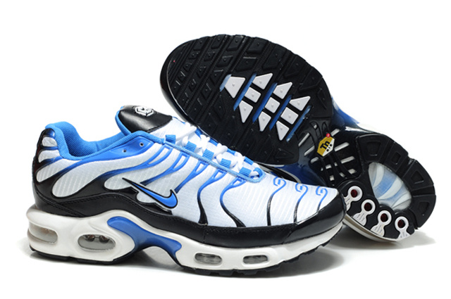 Nike Air Max TN Shoes White Black Blue