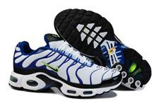 Nike Air Max TN Shoes White Blue Black